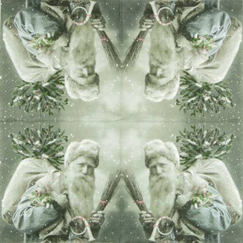 Paper Napkin - Santa