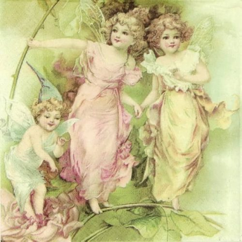 Paper Napkin - Fairies