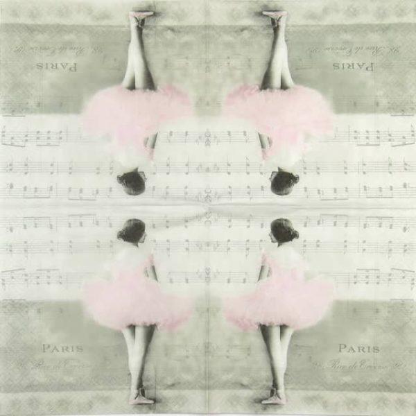 Lunch Napkins (20) - Ballett dancer