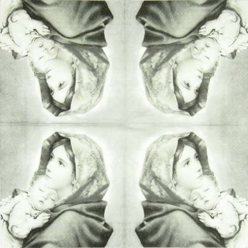 Paper Napkin - Madonna