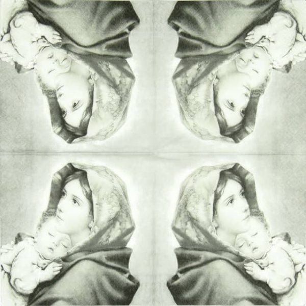 Lunch Napkins (20) -  Madonna