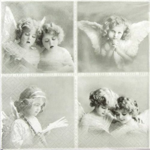 Lunch Napkins (20) -  Small Angels