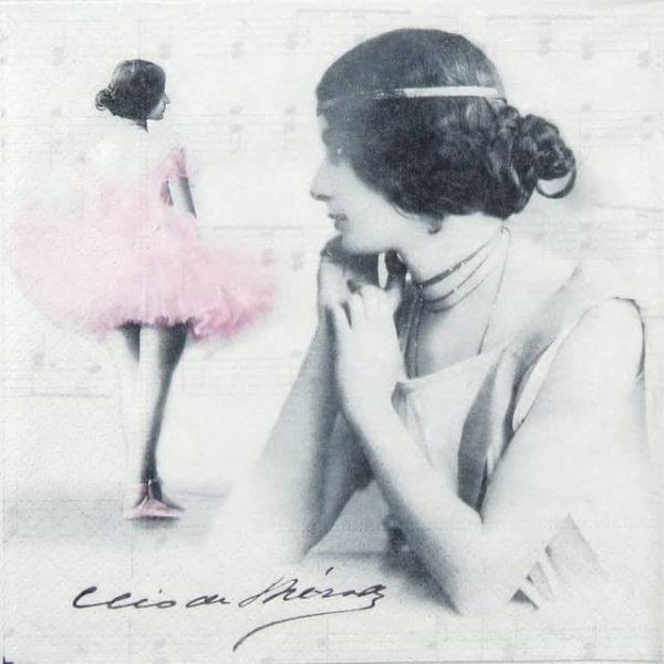 Paper Napkin - Cleo De Merode