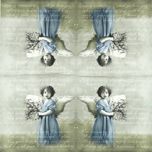 Paper Napkin - Christmas Angel