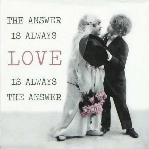 Lunch Napkins (20) -  Always Love