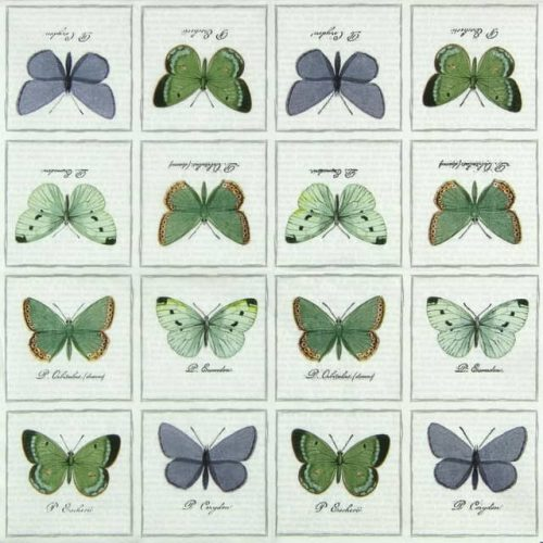 Paper Napkin - Big Butterflies
