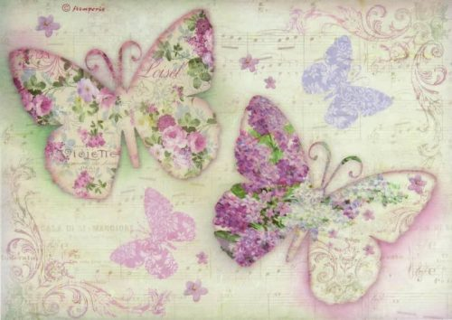 Rice Paper - Butterfly
