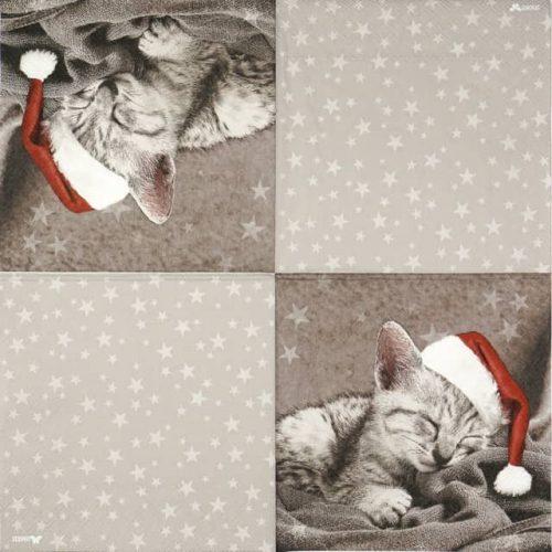 Paper Napkin - Mimi grey