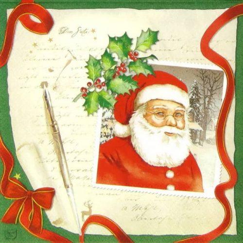 Paper Napkin - Letter to Santa_Sweet-pac_LU5403
