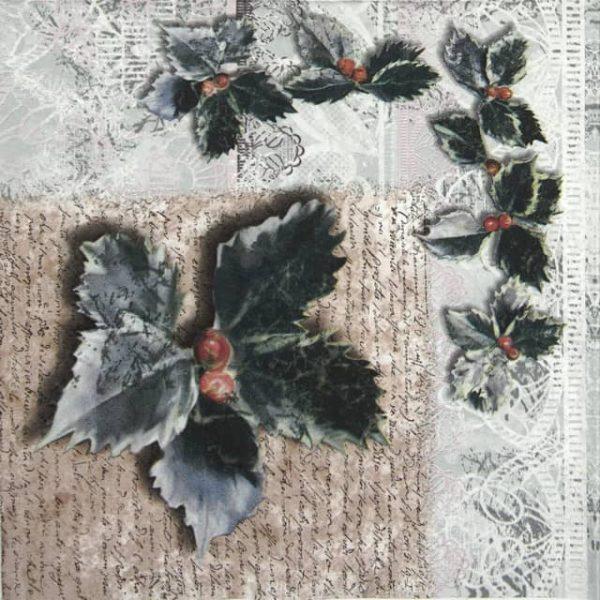 Paper Napkin - Chene Vert