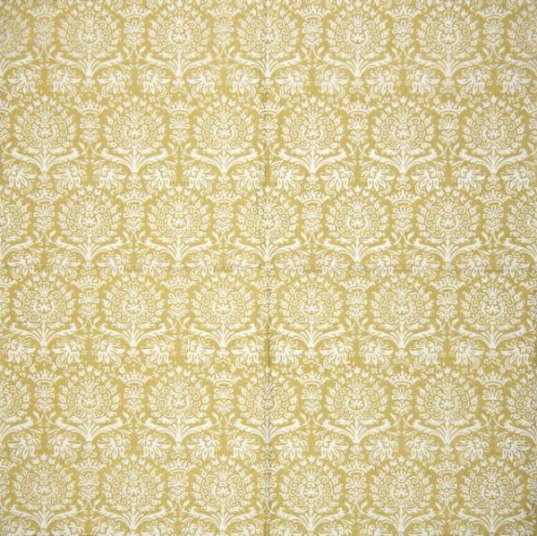 Paper Napkin - Royal Damask gold
