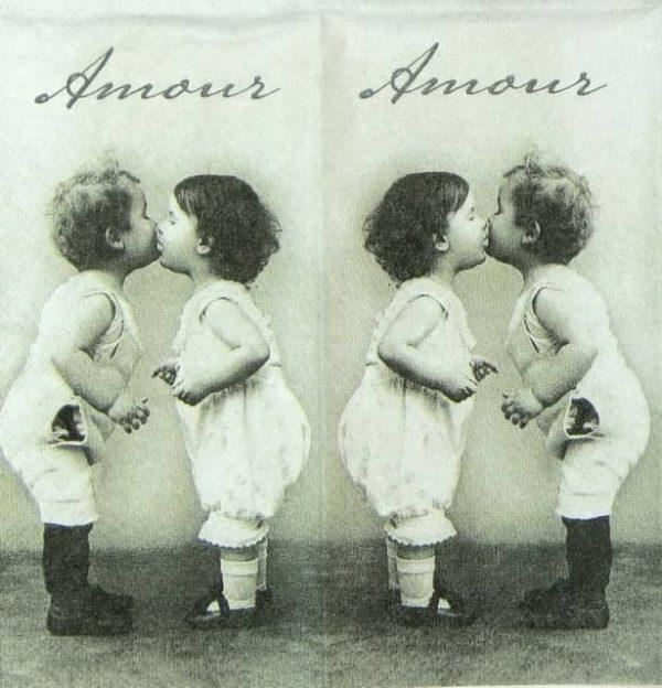 Handkerchiefs - Kissing Babies