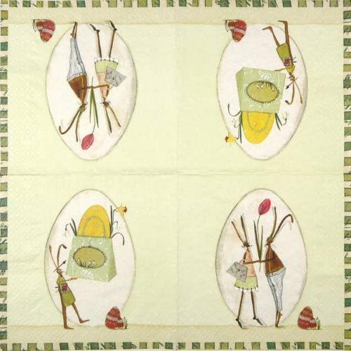 Paper Napkin - Easter Love