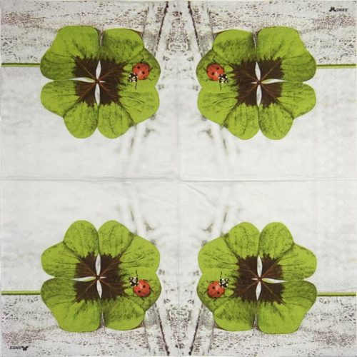 Paper Napkin - Clover