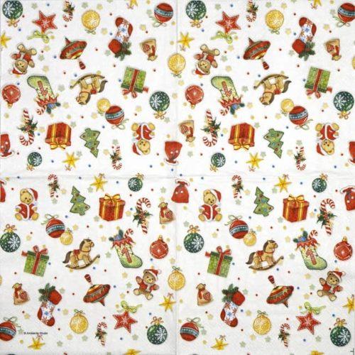 Paper Napkin - Tree Decorations