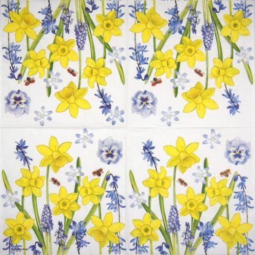 Paper Napkin - Narcissus Love