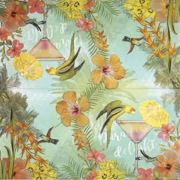 Lunch Napkins (20) - Paradise Delight
