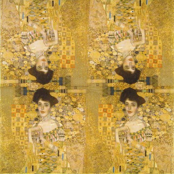 Paper Napkin - Klimt:The Portrait of Adele