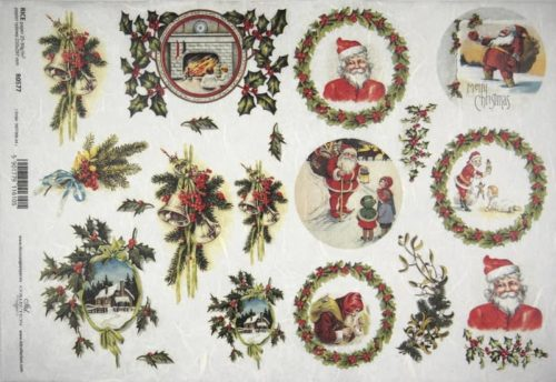 Rice Paper - Decorating for Santa