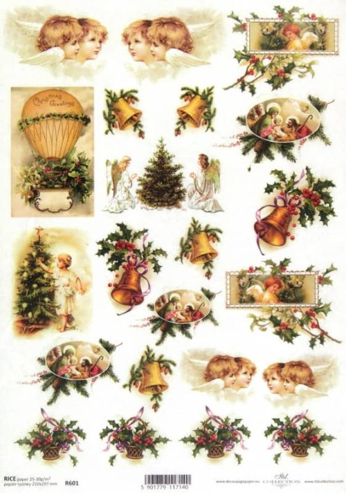 Rice Paper - Christmas Night small