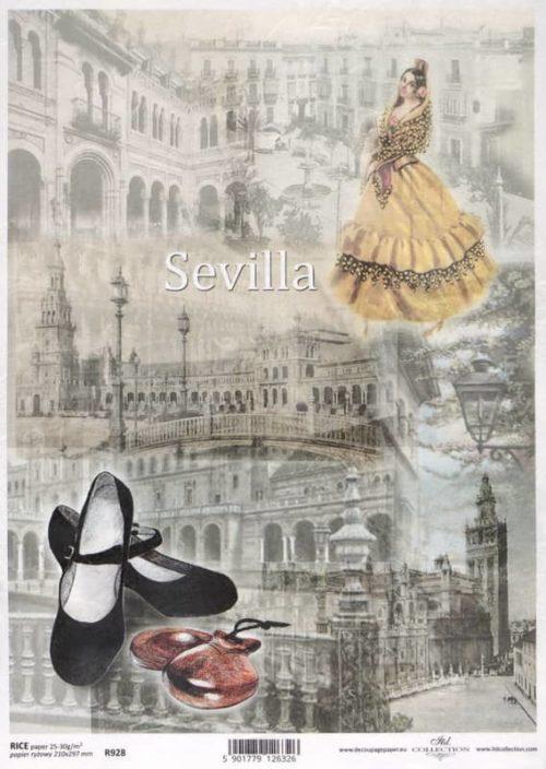 Rice Paper - Sevilla Scene