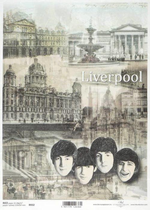Rice Paper - Liverpool Scene