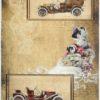 Rice Paper - Vintage Old Cars