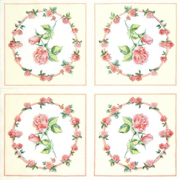 Paper Napkin - Rose Collection