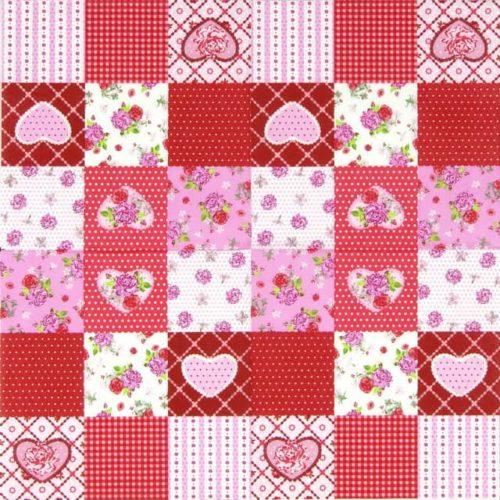 Paper Napkin - Rosy Heart
