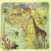 Lunch Napkins (20) - Gwenaëlle Trolez: Travel to Africa