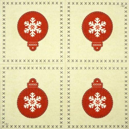 Paper Napkin - Ute Krause: Felt Ornament