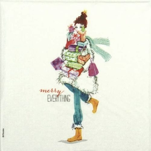 Paper Napkin - B'Sonders: Merry Everything