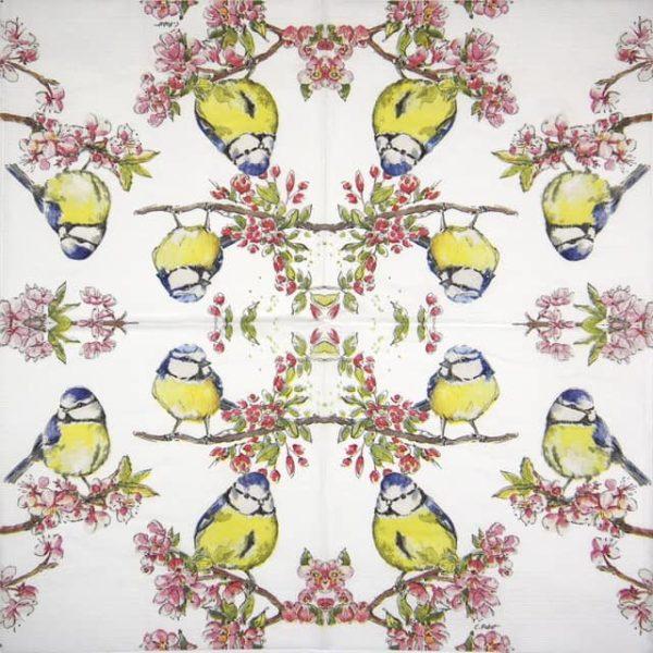 Paper Napkin - Carola Pabs: Summer Choir