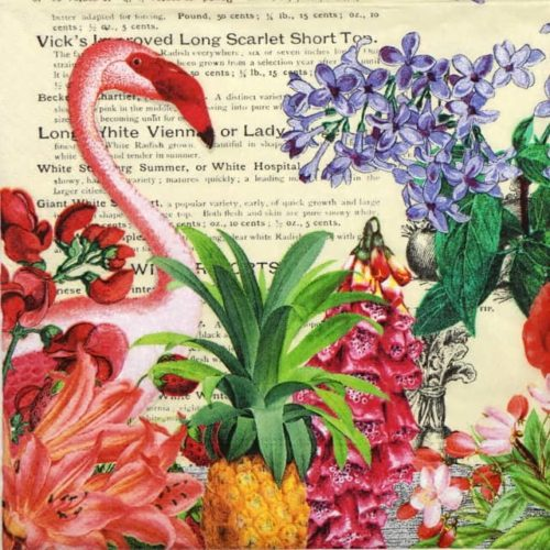 Lunch Napkins (20) - Tropical Garden