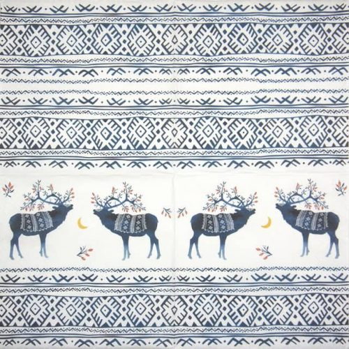 Lunch Napkins (20) - Ethno Deers