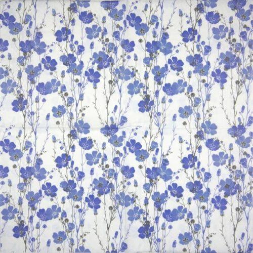 Paper Napkin - Flax Plants