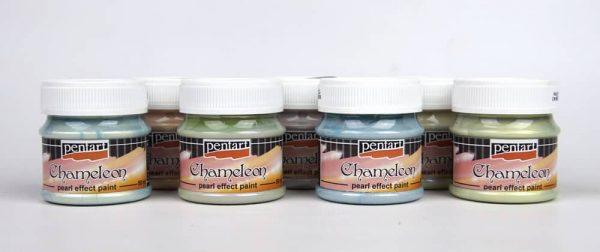 Pentart Acrylic Paint Chameleon Pearl  Effect 50ml Various Colors