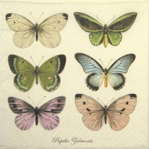Lunch Napkins (20) - Beautiful Butterflies
