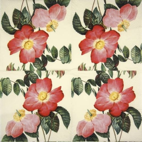 Lunch Napkins (20) - Roses