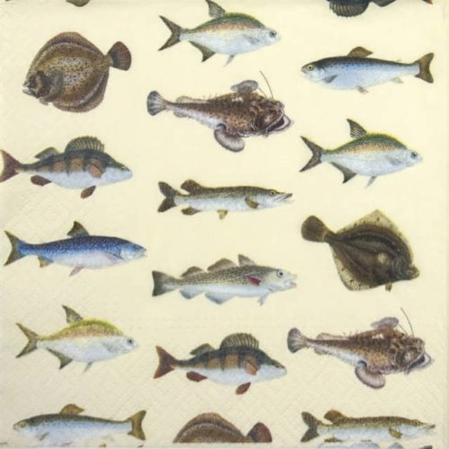 Paper Napkin - Fishes