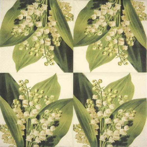 Paper Napkin - Lily of the Valley