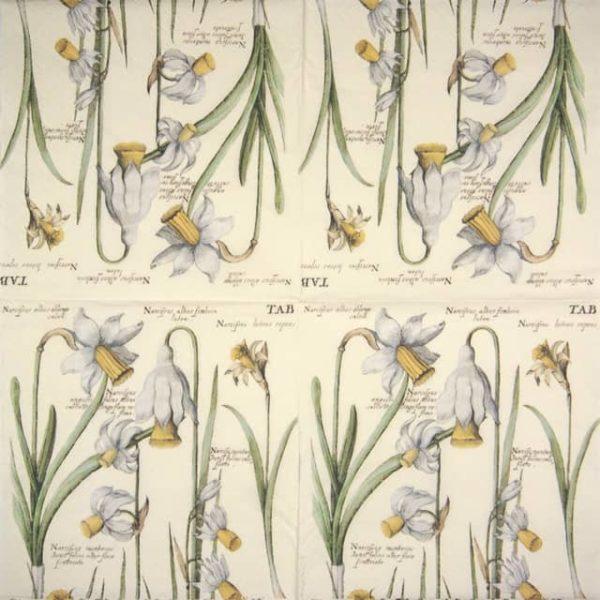 Paper Napkin - Spring Flowers