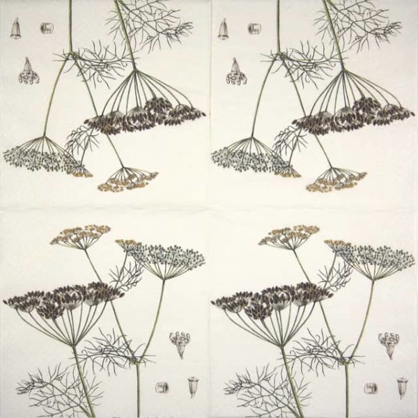 Lunch Napkins (20) - Dill