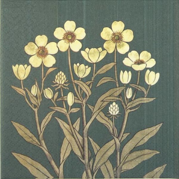 Paper Napkin - Buttercups
