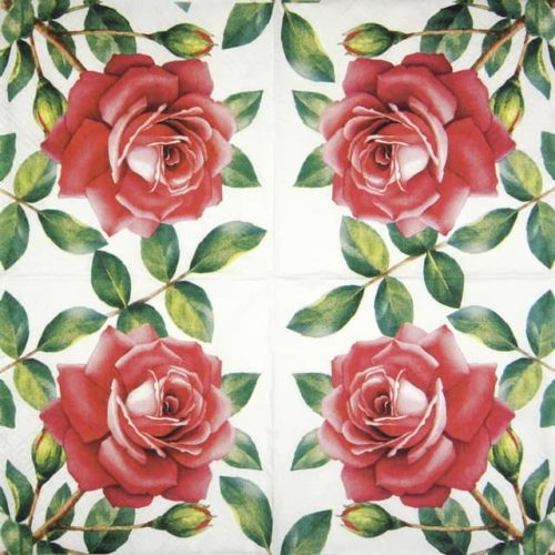 Lunch Napkins (20) - Special Rose