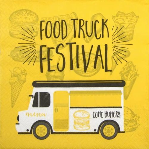 Paper Napkin - Food Truck