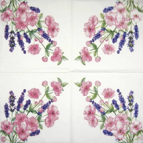 Lunch Napkins (20) - Gentle bouquet