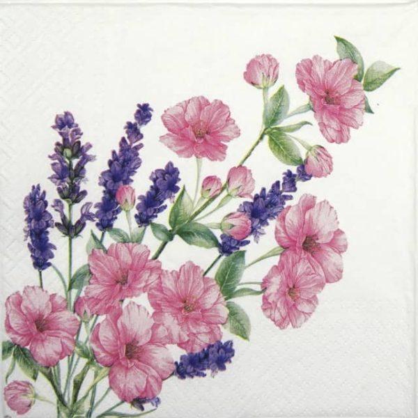 Lunch Napkins (20) - Gentle bouquet
