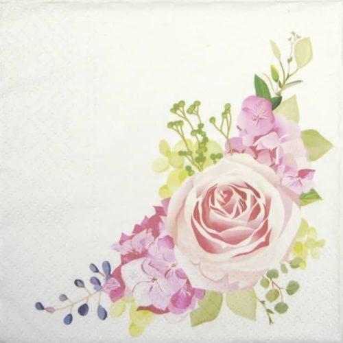 Paper Napkin - Nostalgic Rose