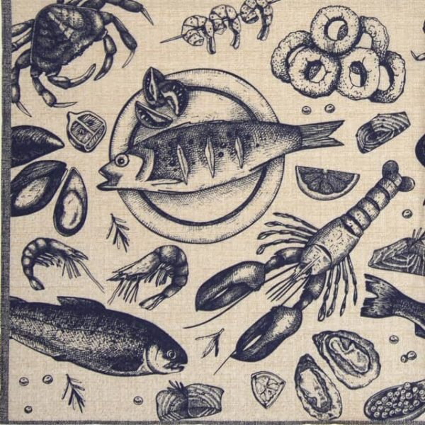 Lunch Napkins (20) - Delicious Seafood